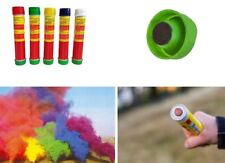 Fumogeno smoke generator fumo colorato.Stadio lunga durata,blu,verde,nero,bianco