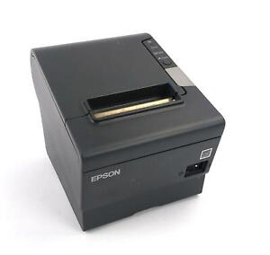 Epson TM-T88V M244A RS232 / USB Thermal Receipt Printer - WORKING - PRINTER ONLY