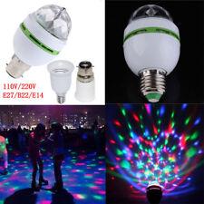 E27 3W RGB LED Ball Stage RGB Light Bulb Rotating Lamp KTV Party Disco lamp