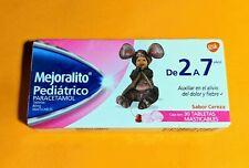 Mejoralito Pediatrico † Formula MEX † 30 Tabletas