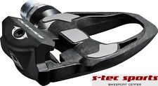 Shimano Dura Ace PD R 9100 Pedal Pedals black matte silver Road bike Click
