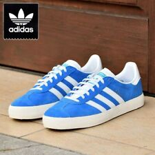 Adidas Originals Gazelle ADV Men's Casual Skate Sneaker Blue Suede Shoe Trainer