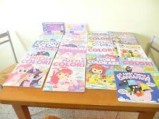Lotto 20 Libri Da Colorare Per Bambini + stickers e altro come foto - NUOVI