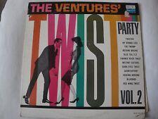 THE VENTURES' TWIST PARTY VOL. 2 VINYL LP 1962 DOLTON RECORDS BLP 2014, MONO EX