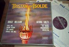 Solti/Nilsson WAGNER Tristan und Isolde - Decca Wide Band SET 204-8 + bonus LP