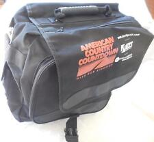 American Country coundown Laptop Messenger Black carry on bag 34th 2003 Nwt
