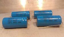 2 SPRAGUE 750 uF 75v Electrolytic Axial Capacitor p/n 39D757G075JL7  NOS