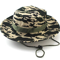 Mens Ladies Travel Bucket Boonie Hats Festival Fishing Summer Sun Beach Hat Caps