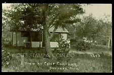 1926 RPPC View at Camp Comfort Brainerd MN  B3922