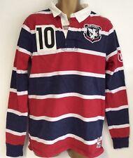 Superdry Men's Stripe Ireland Rugby Shirt Size M