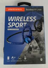 New listing Plantronics BackBeat Fit 2100 Wireless Sport Built For Outdoors / Waterproof