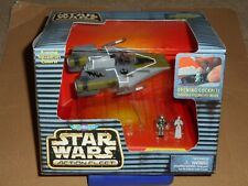 STAR WARS MICROMACHINES ACTION FLEET A-WING STARFIGHTER SEALED DAMAGED MOTHMA