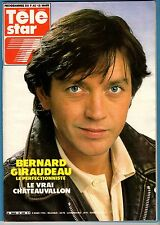 ►TELE STAR 440/1985 - BERNARD GIRAUDEAU - GERARD LENORMAN - DANIELLE DARRIEUX