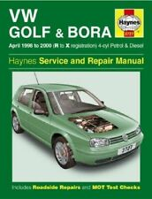 VW Golf & Bora Petrol & Diesel (April 98 - 00) R to X Reg Haynes 3727 New