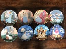 Bradford Exchange Disney Cinderella Collector Plates - Complete Set of 8
