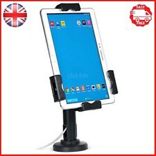 Lockable iPad Tablet Wall Case or Desk Mount Stand Secure Anti Theft Counter