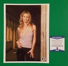 "Sarah Michelle Gellar signed 8"" X 10"" photo Beckett Certified Authentic Bas Coa."