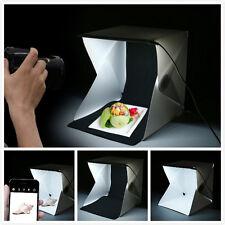 "LightRoom Mini Photo Studio 9"" Photography Lighting Tent Kit Backdrop Cube 3OQ"