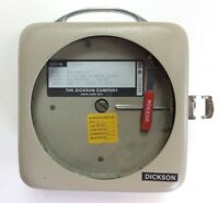 "Dickson SC4-350C-B-7 Temperature Chart Recorder Battery Powered 7 Day 4"" Chart"