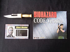 Biohazard Resident Evil Hong Kong Comic Promo mini metal knife 1