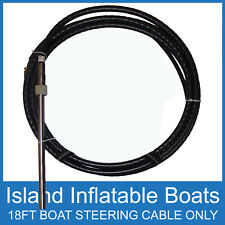 18FT BOAT ✱ STEERING CABLE ONLY ✱ 5.4M Suit Teleflex Multiflex Nautfex FREE POST
