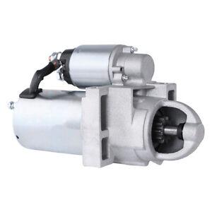 NEW 12VOLT STARTER MOTOR FITS 2002 CHEVROLET AVALANCHE 8.1L(496) V8 DELCO UNIT