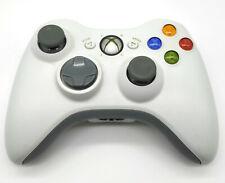 Original Microsoft Xbox 360 Wireless Controller Weiß Kabellos Getestet Gamepad