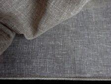METERWARE Gardinenstoff Vorhangstoff mit 24% Leinen Höhe 290 cm, braun, neu