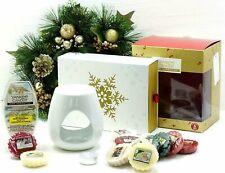 20 Piece Official Yankee Candle Christmas Festive Burner Warmer Set Tarts Melts