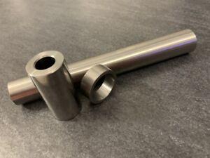Distanzhülse Buchse Rohr Stahl ID 28mm AD 32mm Höhe: 10mm - 100mm - 28x32mm