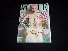 2011 MARCH VOGUE MAGAZINE - LADY GAGA - THE POWER ISSUE 574 PGS - C 3273