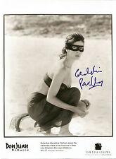 Sexy Geraldine Pailhas original autografiada grossfoto! don juan de marco