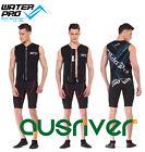 Black Men Women Water Pro Snorkeling Wetsuit 3.5mm Comfortable Vest Winter