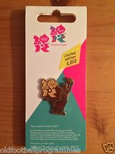 *OLYMPIC TORCH RELAY (HULL) PIN BADGE (18.06.2012) (OFFICIAL PRODUCT)*