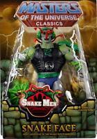 Snake Face 2013 Masters of the Universe Classics He-Man RAR MOTU NEU & OVP MOC