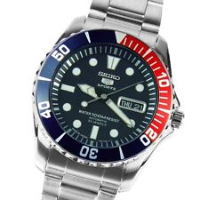 Seiko 5 Sports Mens Automatic Stainless Steel Watch SNZF15J1 SNZF15 SNZF15J