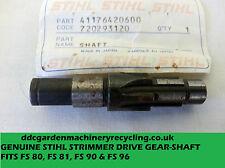Stihl fs90, 80-81-96 drive shaft pn 41176420600