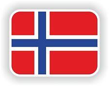 1x Norway Norwegian Flag Sticker for bumper Laptop Decal Aufkleber flag Pegatina