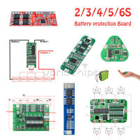 2S/3S/4S/5S/6S BMS Charger PCB Li-ion Lithium 18650 Battery Protection Board