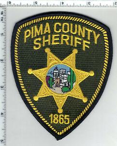 Pima County Sheriff's Dept (Arizona) Green Background Shoulder Patch