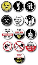 13pk 3M Funny Hard Hat Helmet Sticker Combo Hardhat Extreme Edition Toolbox