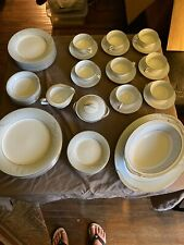 Noritake China Cathay 6029 Eight Complete Place Settings Plus Serving Pieces
