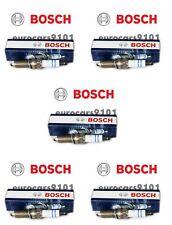Set of (5) Smart Fortwo Bosch Spark Plugs YR7NE 1321590003