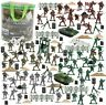 BeebeeRun 250 PCS Army Men Army Soldier Plastic Toys, Military Action Figures...