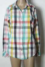 CAMPUS by Marc O´Polo Bluse Gr. XL/40 bunt-kariert Country Karo Hemd/Bluse