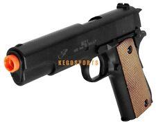 M21B 1911 Goverment Model Spring Airsoft Pistol Gun Black 270 FPS Handgun BBs