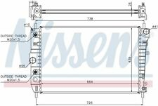 Radiator Front Nissens 66701 fits 00-06 Jaguar XKR