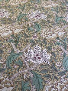 REMNANT Off Cut Fabric Curtain Blind Cushion Craft 137x88cm Sanderson Windrush