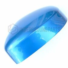 FORD FOCUS LEFT PASSENGER SIDE DOOR WING MIRROR COVER CAP PAINTED VISION BLUE