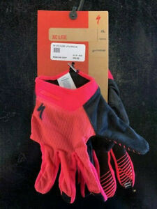 Specialized XC Lite MTB Gloves- Pink- Sizes LG and XL